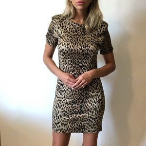 {American Angel} NWT!! Vintage leopard dress